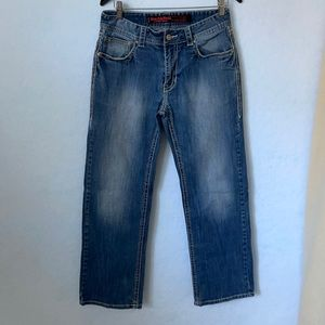 Rock & Roll Cowboy Straight Relaxed Fit Jeans